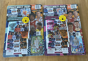 Topps-Match-Attax-Champions-League-20-21-2-x-update-Multipack-NEW-amp-OVP