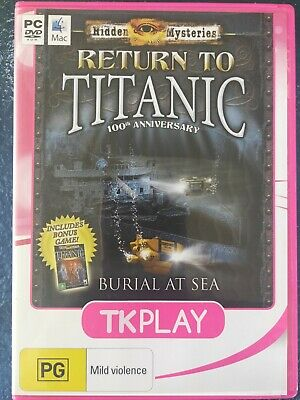 Hidden Mysteries Return To Titanic Pc Game Hidden Object Game For Sale Online