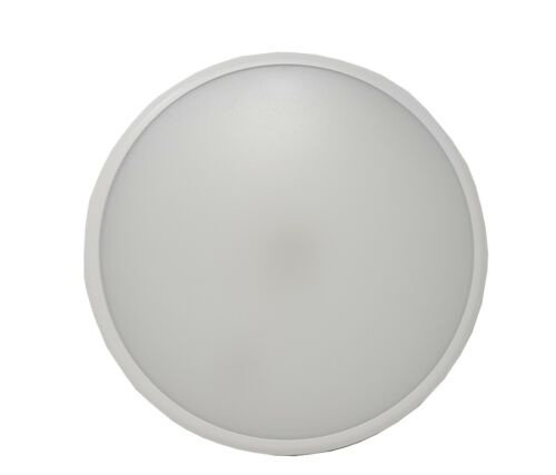 22W LED Low Ceiling Profile Slim LED Ceiling or Wall IP65 Bulkhead Light 2000Lms