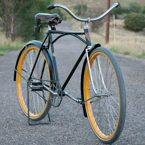 Vintage Iver Johnson Superior Truss BICYCLE Prewar ArchbarFrame Cruiser Bike TOC