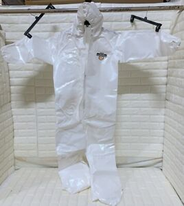 Lakeland C72160 Protective Suit COV With Hood Boots Splash Size MD