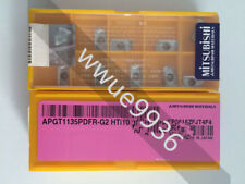 10pcs For Mitsubishi APGT1604PDFR-G2 HTi10 CNC Carbide Inserts Carbide Blades