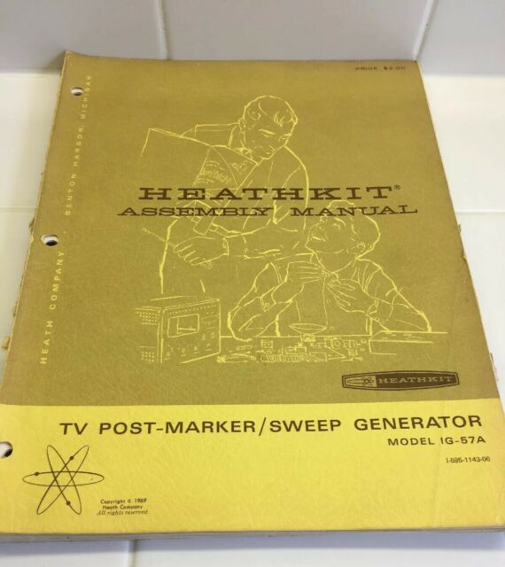 Heathkit Post-marker Sweep Generator Model Ig-57a Series