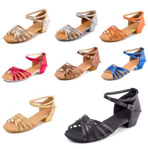 Ballroom-Salsa-tango-heeled-latin-dance-shoes-children-girls-women-size-24-41