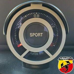 White-Abarth-595-Turbo-Gauge-Cage
