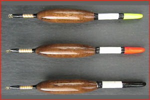 Handmade Ian Lewis fishing floats - Balsa and quill chubber 5AAA (B&Q)