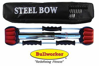 """Bullworker 20"""" Steel Bow - Full Body Workout - Portable Home Exercise Equipment"""