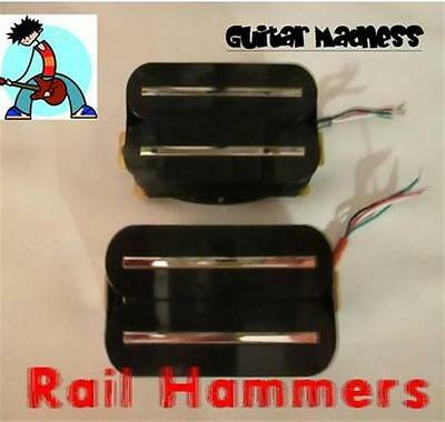 G.M. Rail Hammers     High Output Premium Rail Humbuckers