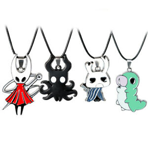 Game-Around-Hollow-Knight-Key-Chain-Porte-Cles-Hornet-Keyring-Necklace-Pendant