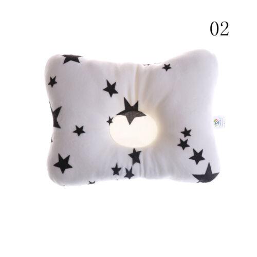 Newborn Infant Baby Pillow Prevent Anti Roll Flat Head Neck Cushion Pillow newEP