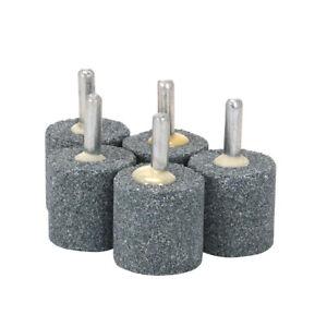 "Ceramic Corundum Grinding Head Cone Burs Bits for Rotary Tool 1//4/"" Shank 20Pcs"