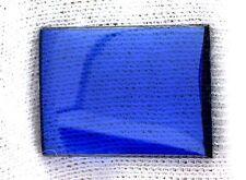 ONE 20mm x 15mm Flat Rectangle Synthetic Blue Spinel Corundum Cabochon Gemstone