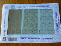 Microscale Decal Ho 87-1406 Texture Overlay Decal -- Plywood Texture - New, Wea