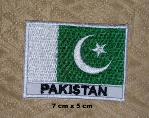 Pakistani Flag Pakistani Country National Flag Iron// Sew-on Embroidered Patch