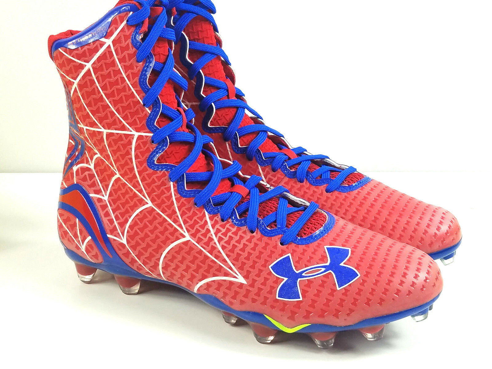 NEW CLEATS UNDER ARMOUR UA HIGHLIGHT ALTER EGO SPIDERMAN FOOTBALL CLEATS NEW MC SZ 11   fe11f6