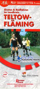 Touristenkarte, Skaten & Radfahren im Landkreis Teltow-Fläming, 2002