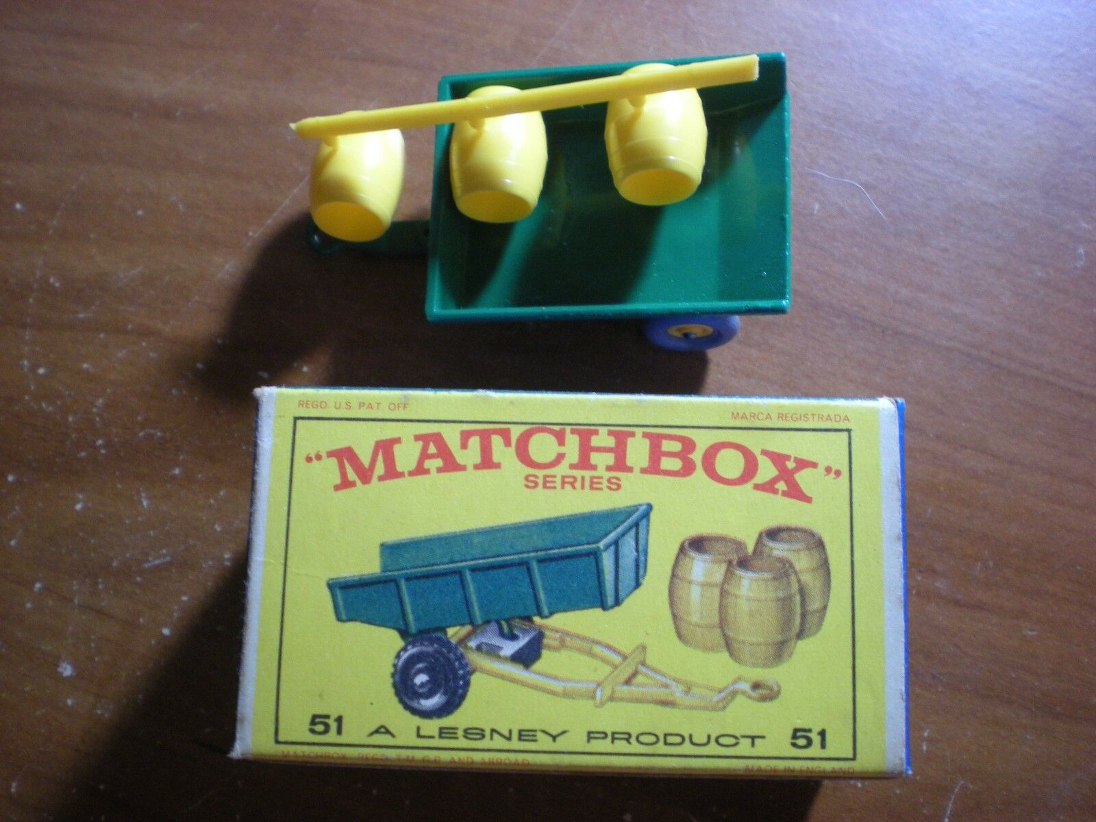 tienda en linea Vintage Nuevo Y En Caja Matchbox  51 remolque remolque remolque ruedas gris  autorización oficial