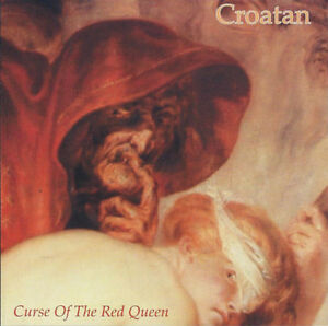 Croatan-Curse-of-the-Red-Queen-CD-NUOVO-OVP-hardcore-NOISE-PUNK