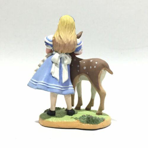 Japan Kaiyodo Disney Alice Wonderland Tea Party Alice /& Fawn Deer Figure Toy
