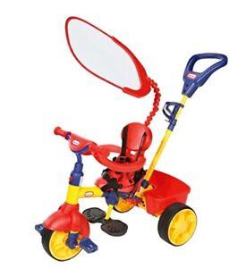 Magnifique Little Tikes Tricycle 4-en-1 Pour Enfants Jaune Rouge