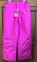 Girls The Children's Place Ski Pants Lightweight Insulation Pink Size 10
