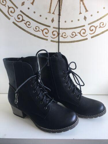 Boots Ankle 92514 5 Black donna Rieker Size ftqWxvwnEn