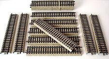 LOT 15 RAILS DROITS MARKLIN - VOIE M - N° 5106 - ECHELLE H0