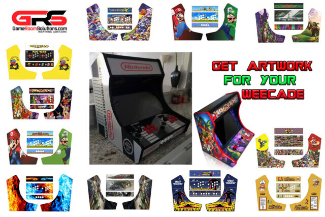 Groovy Tabletop Artwork Pack Fits Weecade No Bubble Vinyl Back Lit Marquee Psd Incl Download Free Architecture Designs Rallybritishbridgeorg