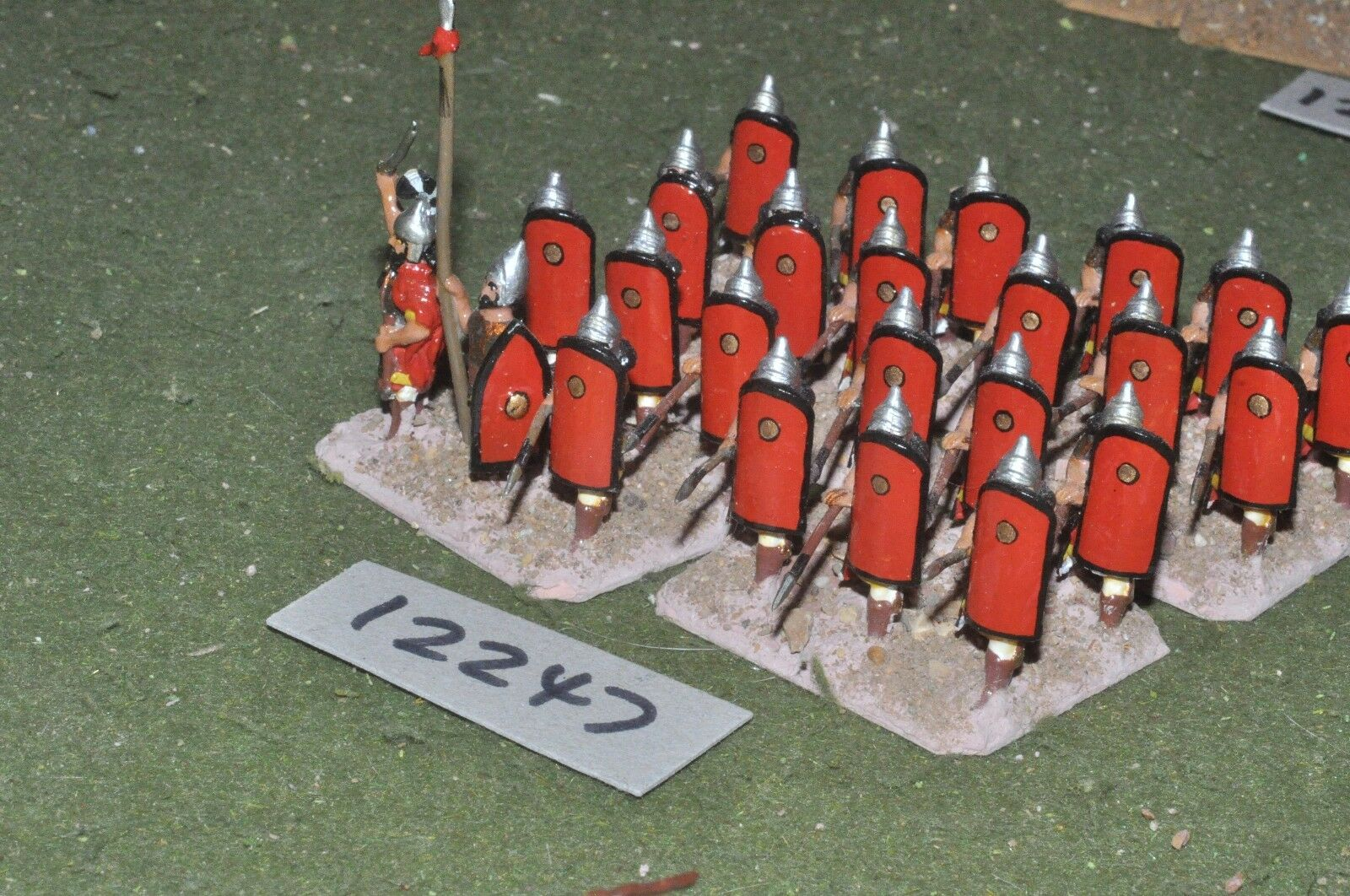 25mm biblical   assyrian - spearmen 24 figures - inf (12247)
