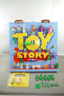 Lego Toy Story Personaggi Set Con Display 34 Personaggi Twitch Zurg Hamm Tra L'altro (f17)-mostra Il Titolo Originale Lieve E Dolce