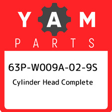 66M-W009A-02-1S F15-07040100 COMPLETE CYLINDER HEAD ASSEMBLY YAMAHA OUTBOARD
