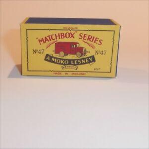 Matchbox-Lesney-47-a-Trojan-Van-empty-Repro-B-style-Box