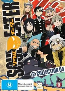 Soul-Eater-Collection-4-DVD-2010-2-Disc-Set-New-Region-4