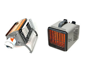 Electric vs. Gas Portable Heaters