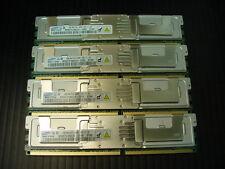 4x4GB Samsung Server 16GB RAM Kit PC2-5300F FBDIMM ECC REG M395T5160CZ4-CE65