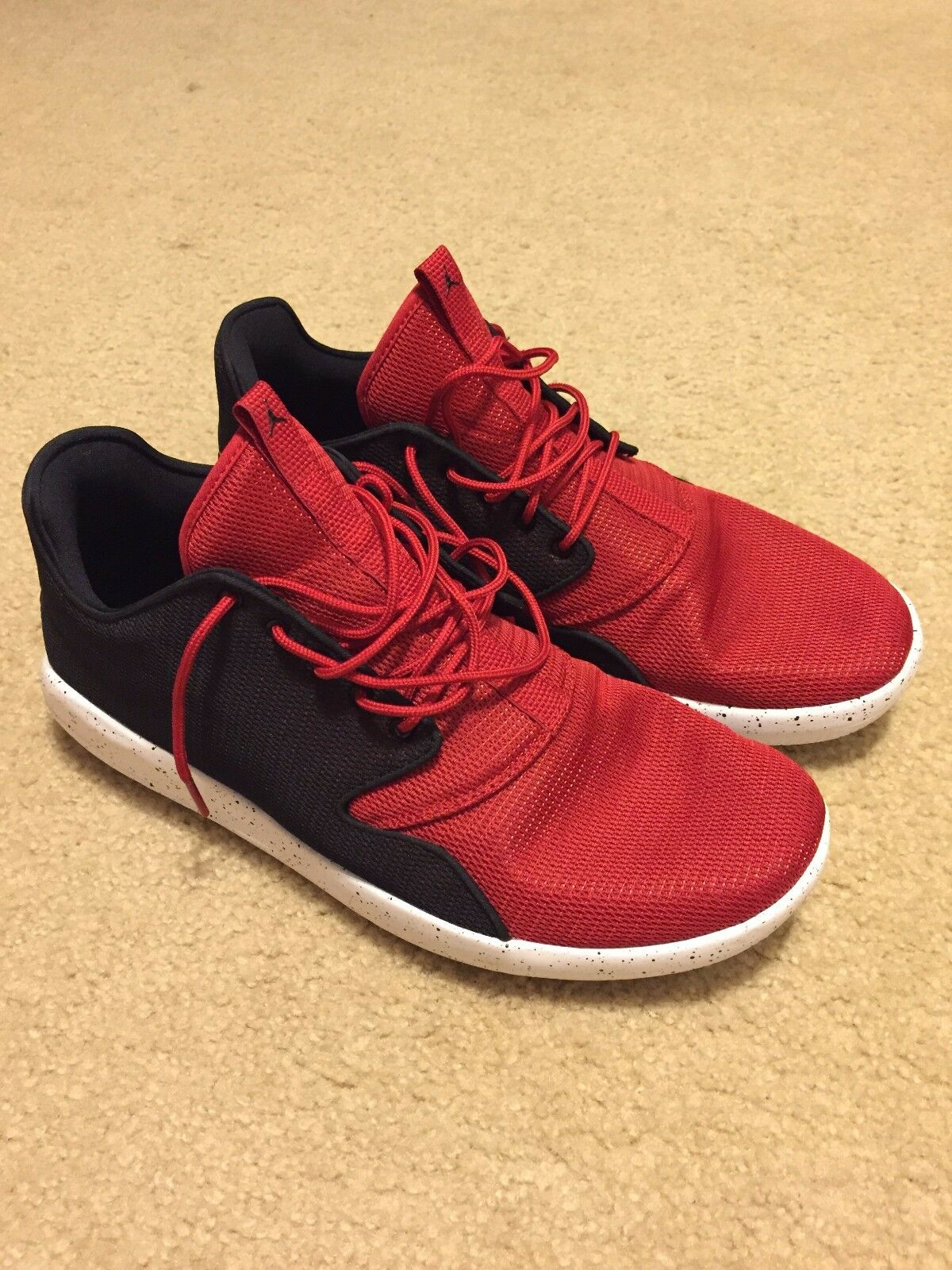 NEW Men's Air Jordan Eclipse Gym Red Black-White Size 13 724010-604 DS