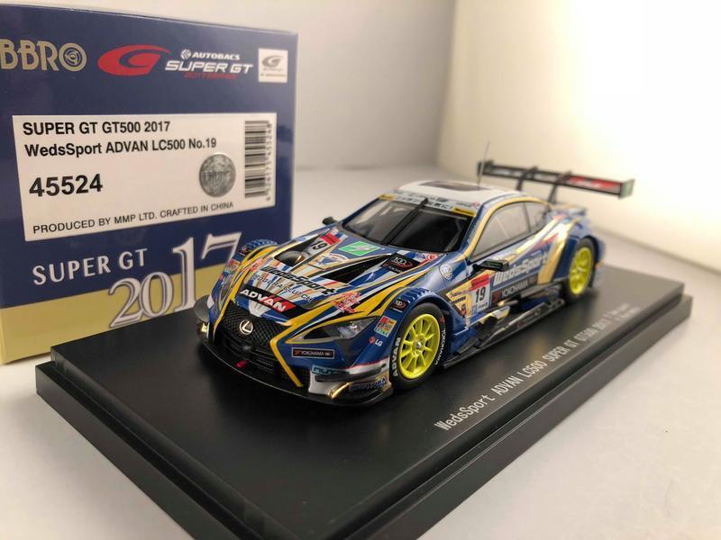 EBBRO 45524 WedsSport ADVAN LC500 LC500 LC500 SUPER GT GT500 2017 No.19  1 43 (RCSKY) 1bb416