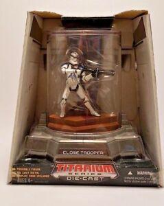 2006-Star-Wars-Die-Cast-Titanium-Series-Clone-Trooper-Sealed-New-in-Box-Hasbro