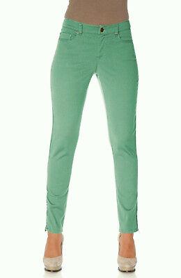 Werksverkauf zuverlässiger Ruf günstig kaufen Rick Cardona Hose 17 Stretch Mint Grün Chino Slim Fit Jeans Damen Heine 34  NEU | eBay