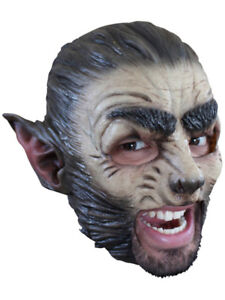 WEREWOLF-CHINLESS-HEAD-MASK-WITH-CHINSTRAP-LATEX-HORROR-HALLOWEEN