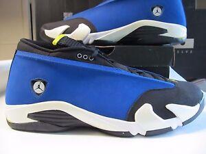 Ds Nike Air Jordan Retro 14 XIV Niedrig Laney Königsblau Mais Blk 18 ... Sofortige Lieferung