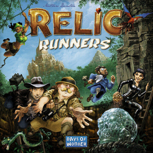Relic Runners Days of Wonder Family Exploration Board Game 2-5 Players NEW