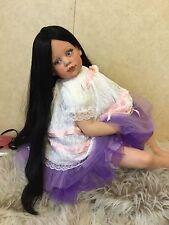 Fayzah Spanos Vinyl Vintage Doll.