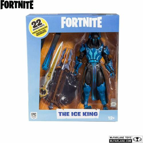 THE ICE KING DI FORTNITE ACTION FIGURE DA 18 CM NUOVO DA NEGOZIO!