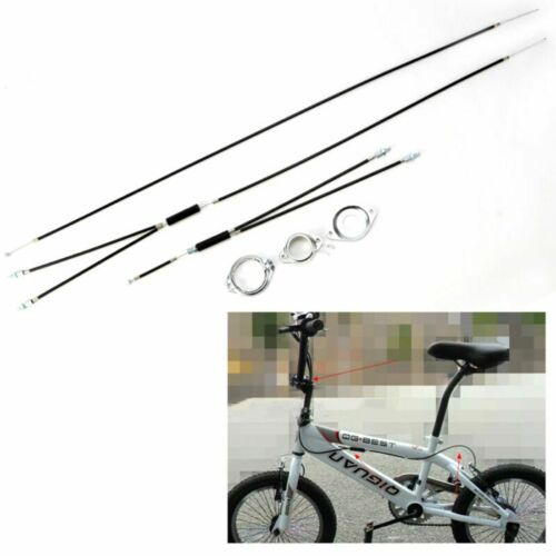 Spinner Rotor Rear BMX Gyro Brake Cables Front Upper + Lower