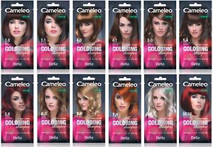 CAMELEO Colouring Shampoo Washable Colours 4-6 washes Hydro Complex 0% Ammonia