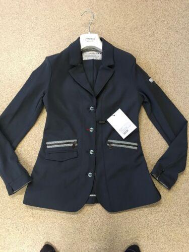 Animo Grey Show Competition Jacket i42 Uk10 BN