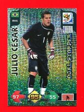SOUTH AFRICA 2010 - Adrenalyn Panini - Card Goal Stopper - JULIO CESAR - BRASIL
