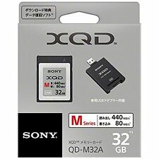 OFFICIAL SONY XQD M 32GB QD-M32A/J / AIRMAIL with TRACKING
