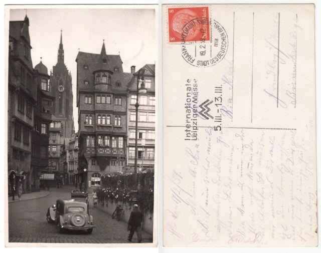 Frankfurt, Partie in der Altstadt 1939